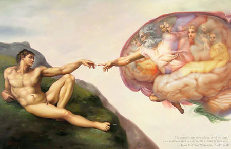"""Brain of the Sistine Chapel"" by Tom Blackwell"