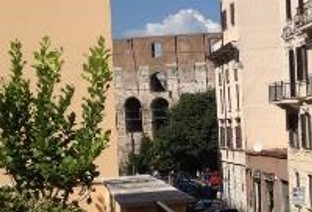 View of Colosseum from Notre Dame Rome Centre