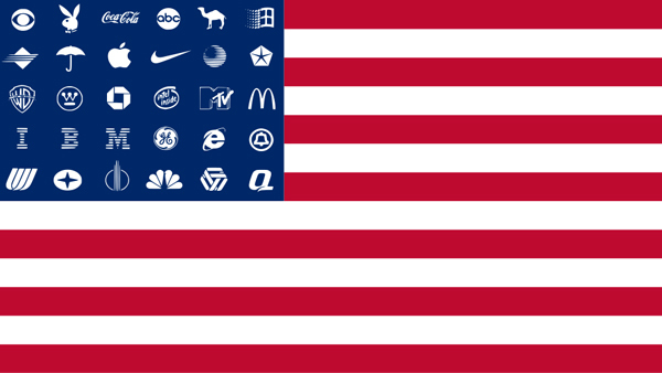 American Corporate Flag
