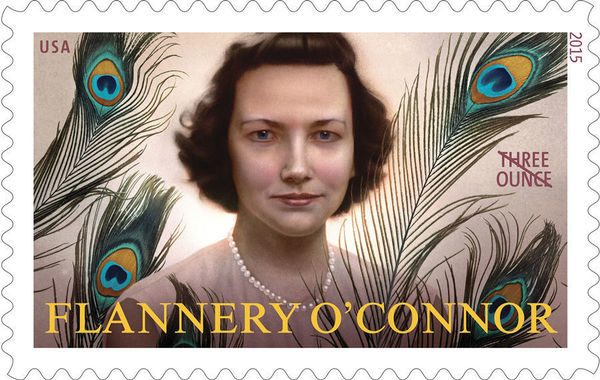 Flannery Oconnor Stamp Web