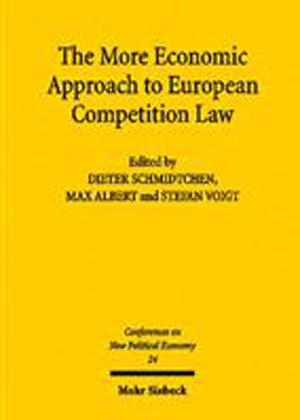 The More Economic Approach to European Competition Law
