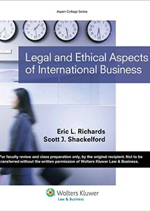 Legal & Ethical Aspects of International Business