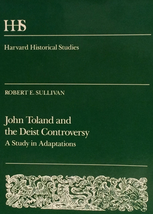 John Toland and the Deist Controversy