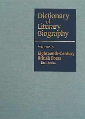 Eighteenth-Century British Poets