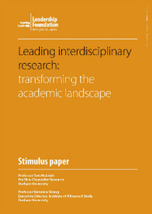 Leading Interdisciplinary Research