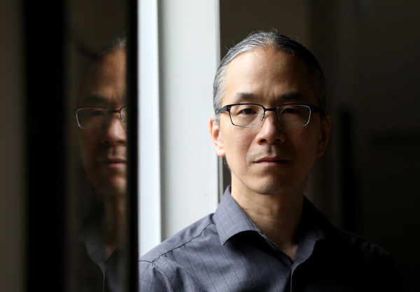 Author Ted Chiang, 2020-2021 NDIAS Artist in Residence (Photo by Alan Berner)