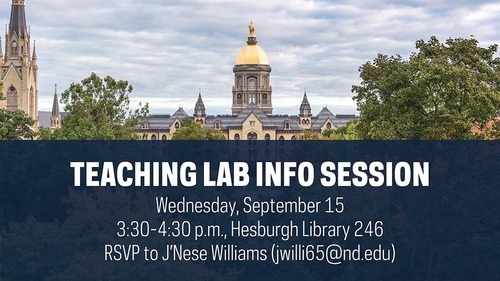 Teaching Lab Info Session Graphic For Social Red Size